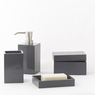 Pot à coton gris beton Kare