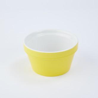 ZODIO - Ramequin en grès moutarde 9,7cm