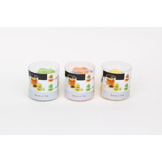 Boule à thé avec repose sachet en silicone coloré