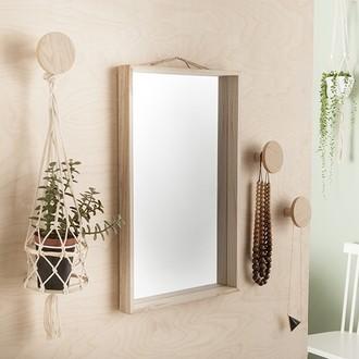 Zodio - miroir rectangulaire diy 50x30cm