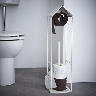 Dérouleur et stockeur de papier toilette