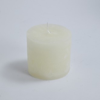 Maom - bougie cylindrique ivoire 10x10cm
