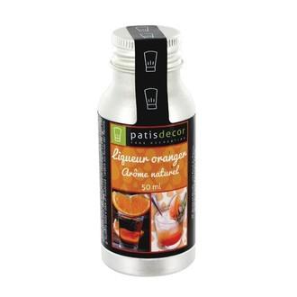 PATISDECOR - Arôme naturel liqueur d'oranger liquide 50ml