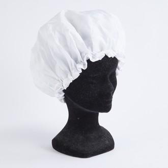 Set de 2 bonnets de douche blanc