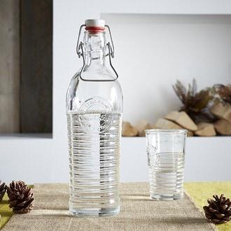 Bouteille en verre transparente Officina 1,2l