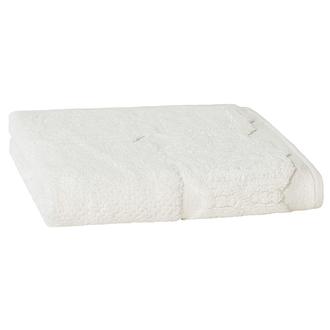 Tapis de bain barocco blanc 50x70cm