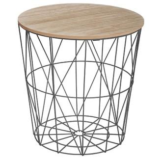 Table filaire Kumi noire h41cm