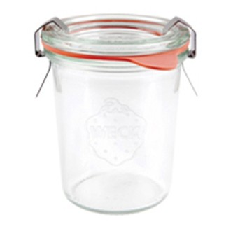 Lot de 4 pots en verre Weck 290ml
