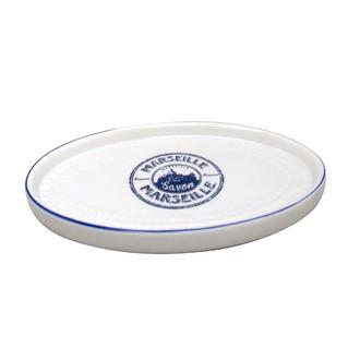 Gobelet à dents en céramique blanc Savon de marseille