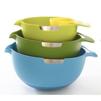 Set de 3 bols avec séparateur d'œuf