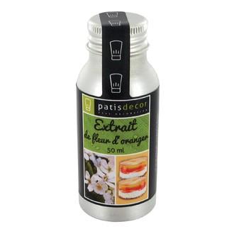 PATISDECOR - Arôme naturel fleur d'oranger liquide 50ml