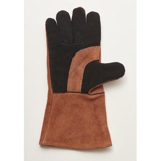 GUSTA - Gant BBQ  toile marron 36x19cm
