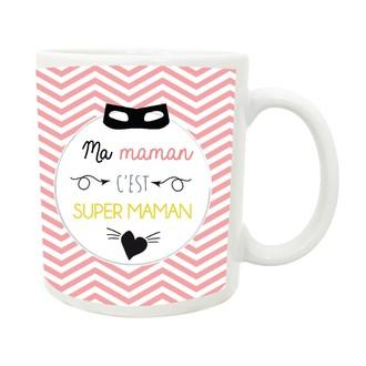 Mug Porcelaine Super Maman