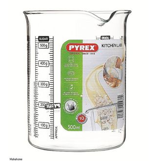 PYREX- Broc mesureur verre boro transparent KitchenLab 0,5L 11X10X13cm