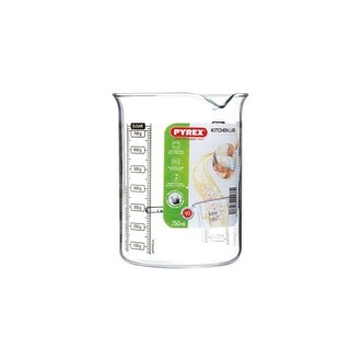 PYREX- Broc mesureur verre boro transparent KitchenLab 0,75L 12X11X14cm