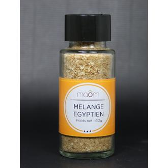 MAOM - Mélange Egyptien-Mélange d'épices et de fruits à coque en poudre pot verre 60g