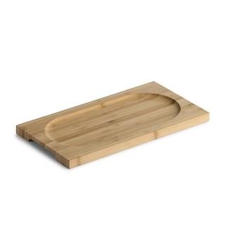 Planche à servir rectangulaire en bambou, 29x15,5cm