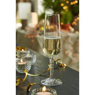 LEONARDO  Flute champagne Spiritii résistant au lave-vaisselle Verre transparent 230 mL