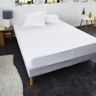 ZODIO - Protège matelas molleton 100% coton qualité prémium Hotêl 160x200cm