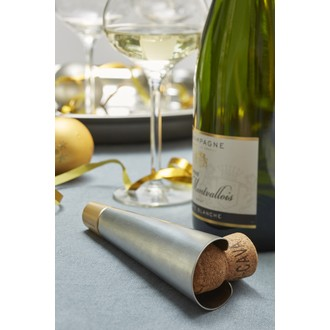 CHEF&SOMMELIER - Tire-bouchon champagne Acier inox +ABS