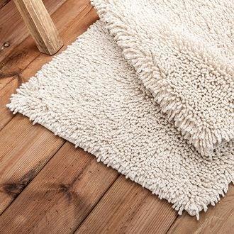 Maom - tapis de bain twisté pashmina 50x80cm
