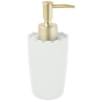 ZONE - Distributeur de savon en résine blanche Lac