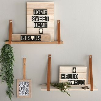 Woodbox a3 + 63 lettres