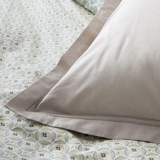 Maom - taie d'oreiller rectangle en percale chanvre 50x70cm