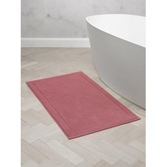 MAOM - Tapis de bain en éponge rose sienne 60x100cm 1300g/m²