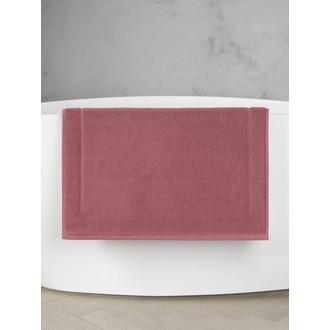 MAOM - Tapis de bain en éponge rose sienne 60x60cm 1300g/m²