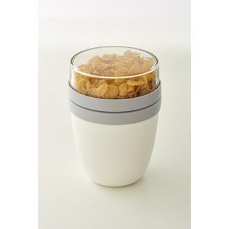 ROSTI MEPAL - Lunchpot Ellipse blanc 0,7L