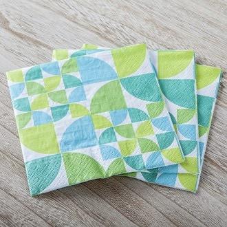 20 serv 33x33 cm bauhaus pattern