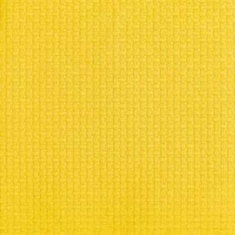 15 serv 33x33 cm linen gaufré jaune