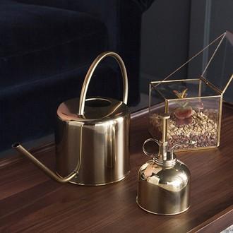 Kikkerland - arrosoir vintage doré