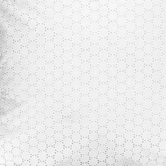 MAOM - Housse de couette en percale brodée Rosalie 240X220cm