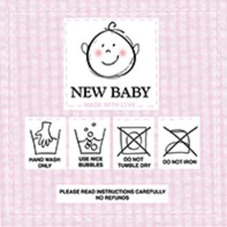 20 Serviettes New baby pink 33x33 cm