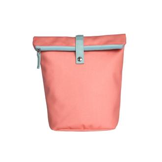 ZODIO - Trousse de toilette en coton enduit corail - THE SHAMPOO trousse - 18x10x25cm