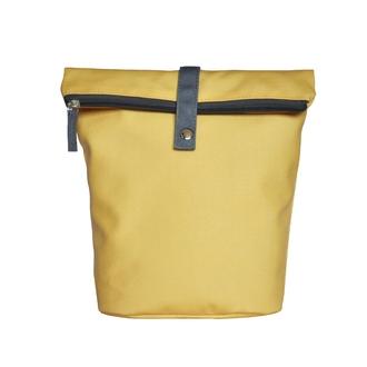 ZODIO - Trousse de toilette en coton enduit jaune - THE SHAMPOO trousse - 18x10x25cm