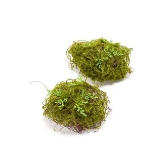 Lot de 2 boules végétales artificielles