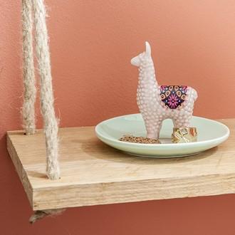 Porte bague en céramique licorne, flamant rose ou lama