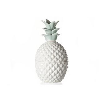 Boite à bijoux en porcelaine Ananas 6,5x12cm