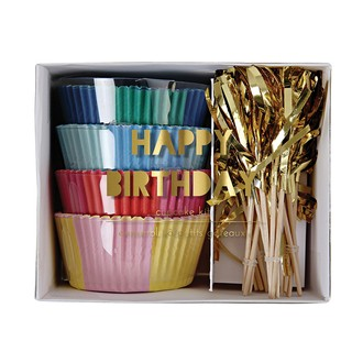 Kit cupcake Happy Birthday