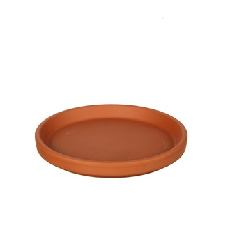 Plateau pour cloche en terre cuite Stan d17xh2.4cm