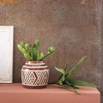 Pic artificiel cactus vert d17xh23cm