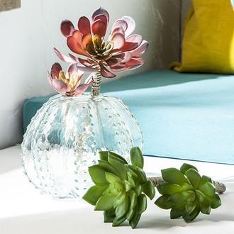 Pic artificiel succulente verte ramifiée 22cm