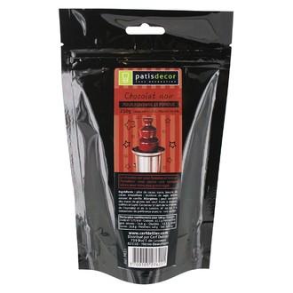 PATISDECOR - Chocolat noir  pour fondue - sachet de 250g
