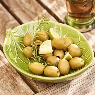 Mini bol porcelaine avec déco salade vert foncé tilleul nature couleur assortie