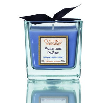 Bougie parf passiflore-pivoine 200g