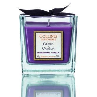 Bougie parf cassis-camélia 200g