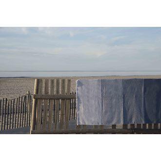 Serviette de plage à rayures dégradées Palma 90x150cm